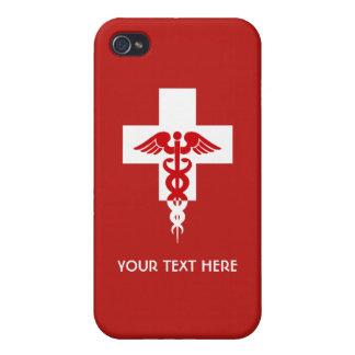 Casos profesionales médicos de encargo iPhone 4/4S carcasa