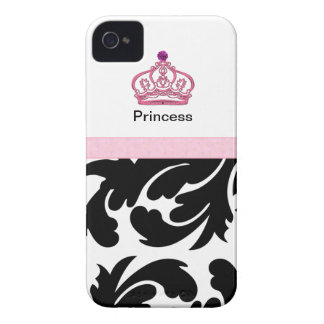 Casos reales del iPhone de la corona Case-Mate iPhone 4 Cárcasa