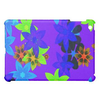 Casos retros del iPad del arte del flower power de