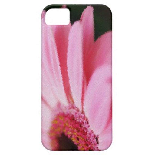 Casos rosados bonitos del iPhone 5/5S de la margar iPhone 5 Case-Mate Carcasa