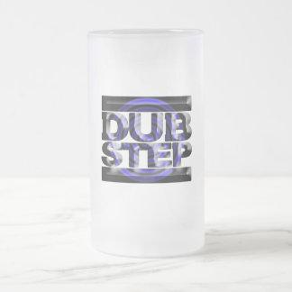 Caspa azul del rusko de la vuelta de la camiseta d tazas de café