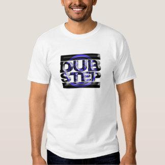 Caspa azul del rusko de la vuelta de la camiseta poleras