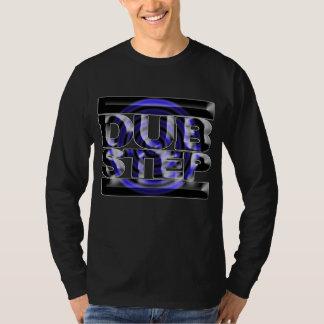 Caspa azul del rusko de la vuelta de la camiseta remeras