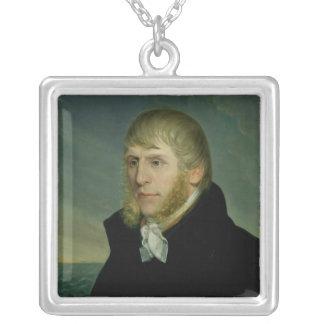 Caspar David Friedrich  c.1810-20 Silver Plated Necklace