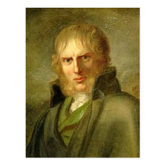 Caspar David Friedrich - retrato Postal