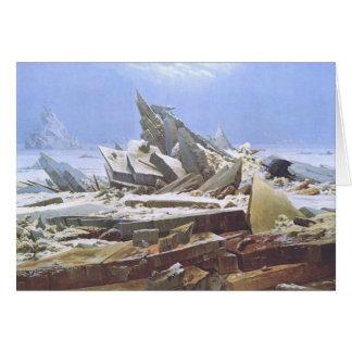 Caspar David Friedrich - The Polar Sea Card