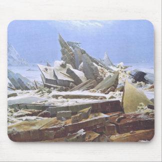 Caspar David Friedrich - The Polar Sea Mouse Pad