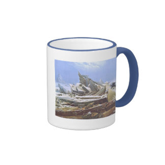 Caspar David Friedrich - The Polar Sea Ringer Mug