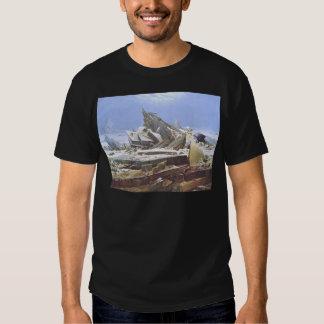 Caspar David Friedrich - The Polar Sea T-shirt