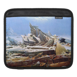 CASPAR DAVID FRIEDRICH - The sea of ice 1824 iPad Sleeve