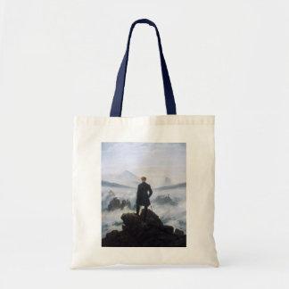 CASPAR DAVID FRIEDRICH - Wanderer above the sea Tote Bag