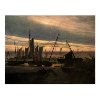 Caspar Friedrich Art Postcard