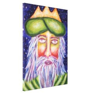 Caspar (Three Kings) Holiday Art Canvas Prints