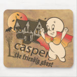 Casper and Haunted House Mouse Pad