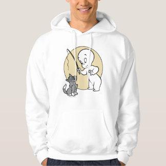 Casper and Kitten Hooded Pullovers