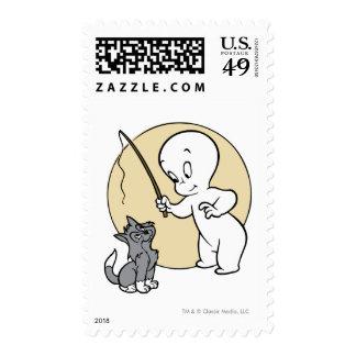 Casper and Kitten Postage