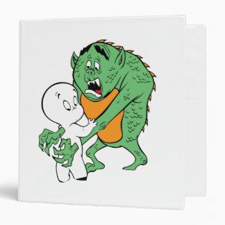 Casper and Monster 3 Ring Binder