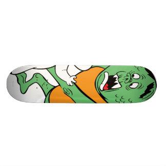 Casper and Monster Skateboard