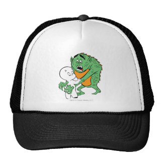 Casper and Monster Trucker Hat