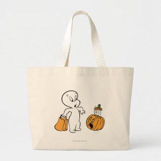 Casper and Pumpkin 2 Canvas Bag