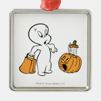 Casper and Pumpkin 2 Christmas Ornament