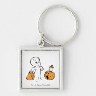 Casper and Pumpkin 2 Key Chain