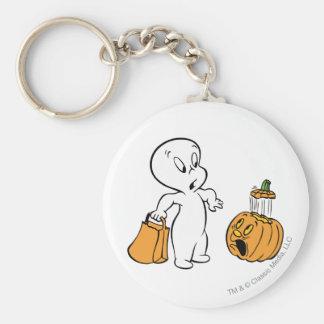 Casper and Pumpkin 2 Keychains