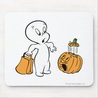 Casper and Pumpkin 2 Mouse Pad