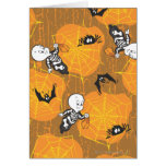 Casper and Spider Webs Card