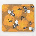Casper and Spider Webs Mouse Pad