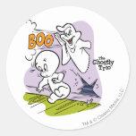 Casper and The Ghostly Trio Classic Round Sticker