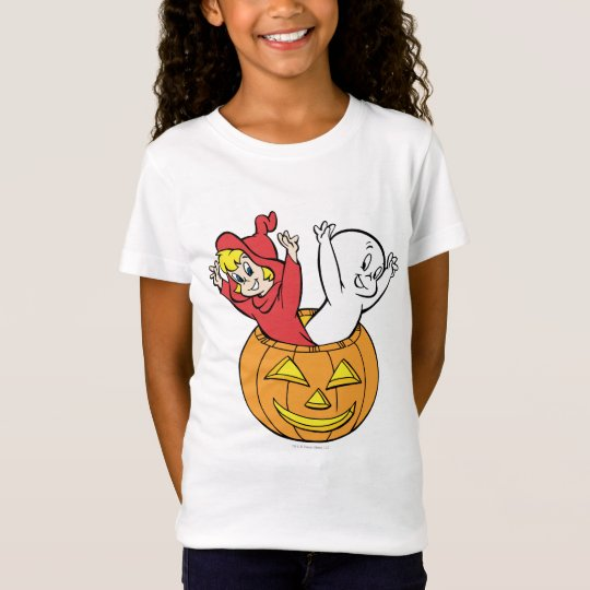 Casper and Wendy in Pumpkin T-Shirt