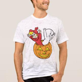 Casper and Wendy in Pumpkin T-Shirt