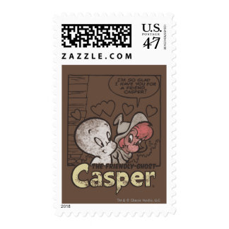 Casper and Wendy Postage Stamp
