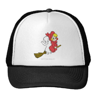 Casper and Wendy Riding Broom Trucker Hat