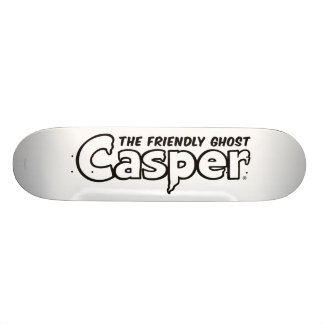 Casper Black Outline Logo Skateboard Deck