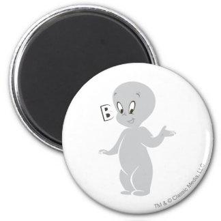 Casper Boo 2 Inch Round Magnet