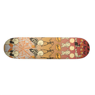 Casper Boo Collage Custom Skateboard