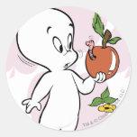 Casper Boo-ty-licious Classic Round Sticker