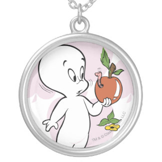 Casper Boo-ty-licious Silver Plated Necklace
