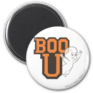Casper Boo U 2 Inch Round Magnet