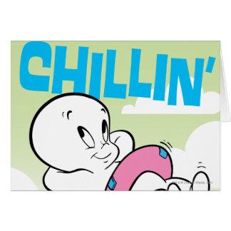 Casper Chillin' Card