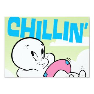 "Casper Chillin Invitación 5"" X 7"""