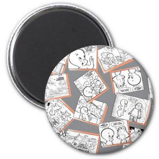 Casper Comics 2 Inch Round Magnet