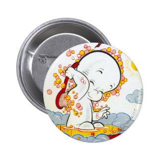 Casper Cover 6 Pinback Button