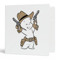 Casper Cowboy 3 Ring Binder