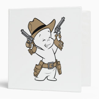 Casper Cowboy 3 Ring Binder