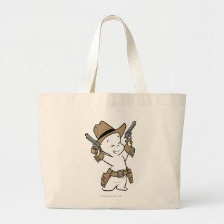 Casper Cowboy Jumbo Tote Bag