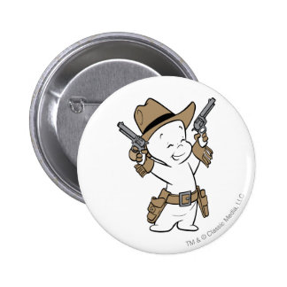 Casper Cowboy Button
