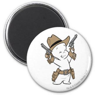 Casper Cowboy Fridge Magnet